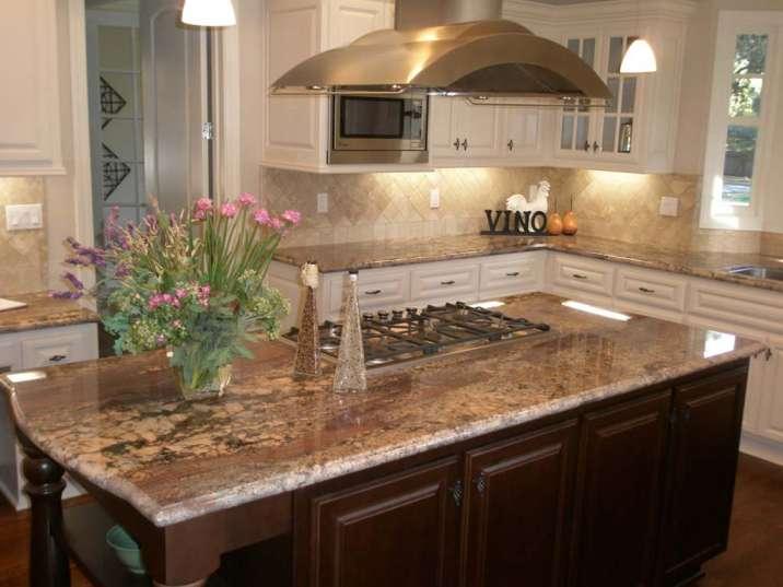 Crema Bordeaux granite color - kitchen countertop and bathroom countertop