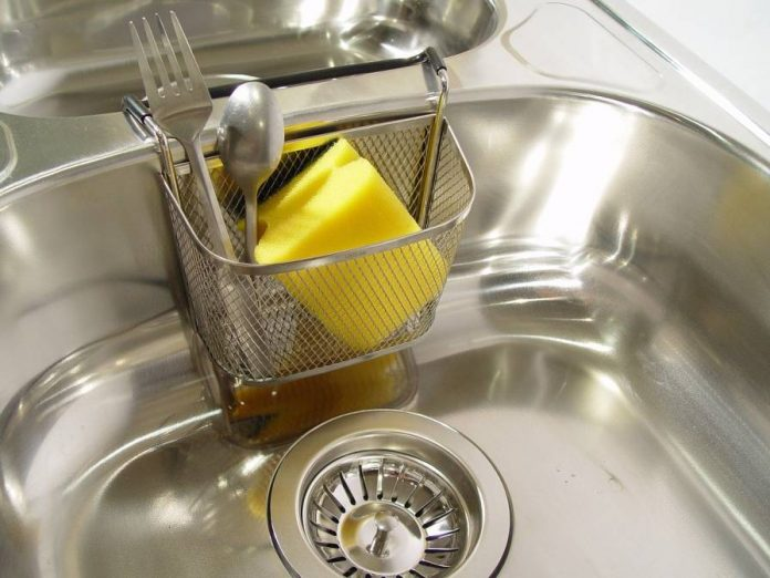 how to remove scratches from stainless steel sink